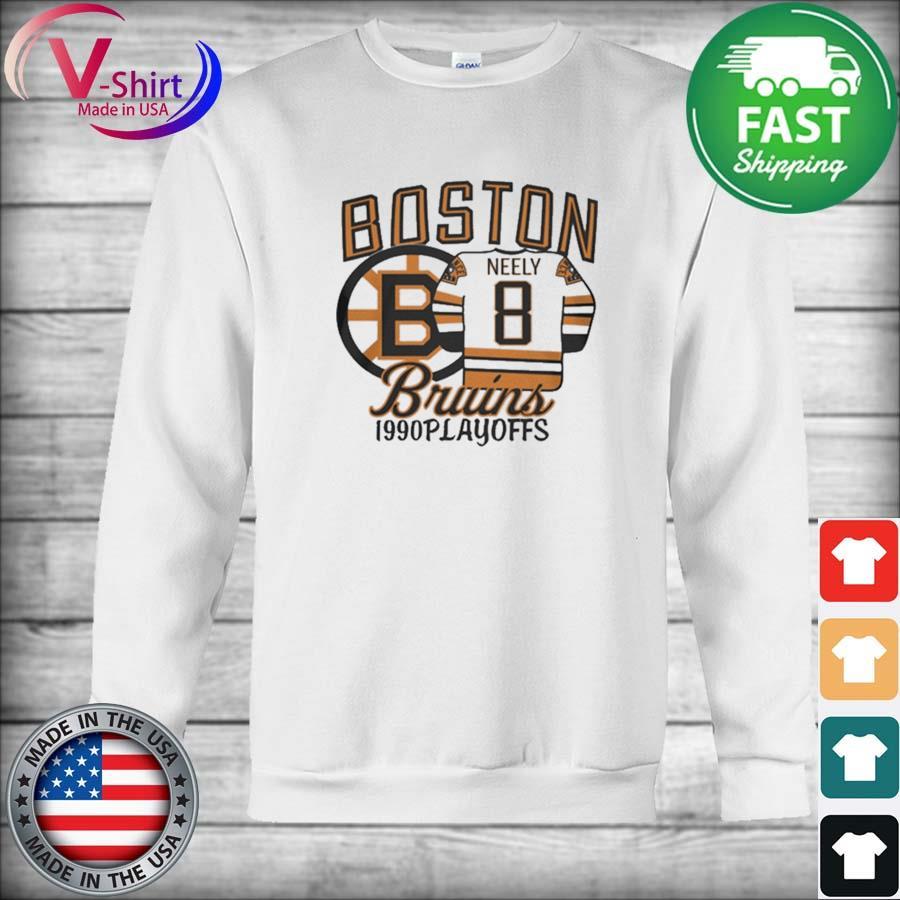 Boston Bruins 1990s Playoffs Neely 8 s sweater