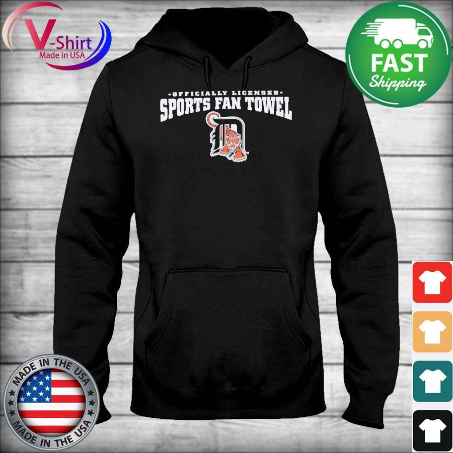 Detroit Tigers Officially Licensed Sports fan Towel s sweater