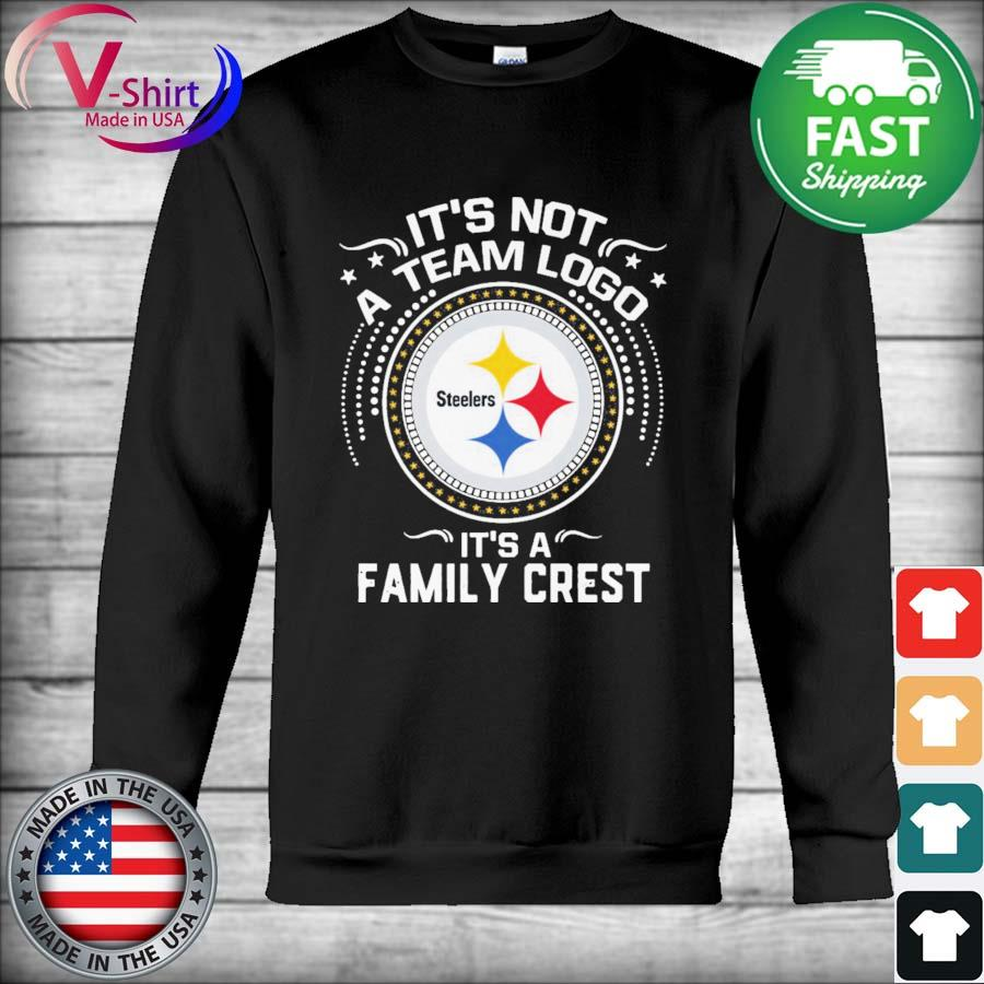 Official Pittsburgh Steelers It's not a team logo It's a Family Crest s Hoodie