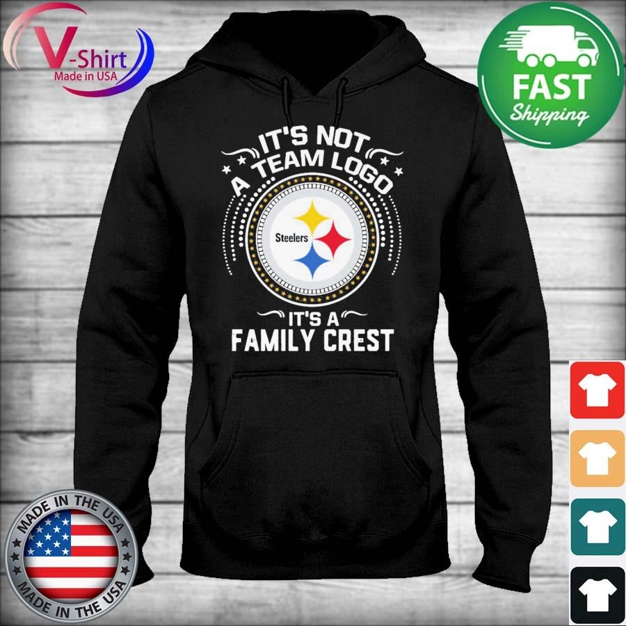 Official Pittsburgh Steelers It's not a team logo It's a Family Crest s sweater