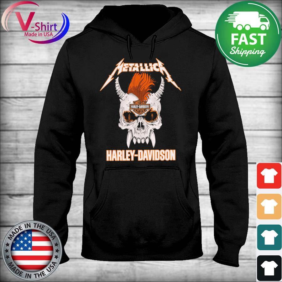 Official Skull Metallica Motor Harley Davidson s sweater